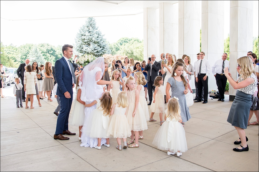 Washington DC LDS Wedding