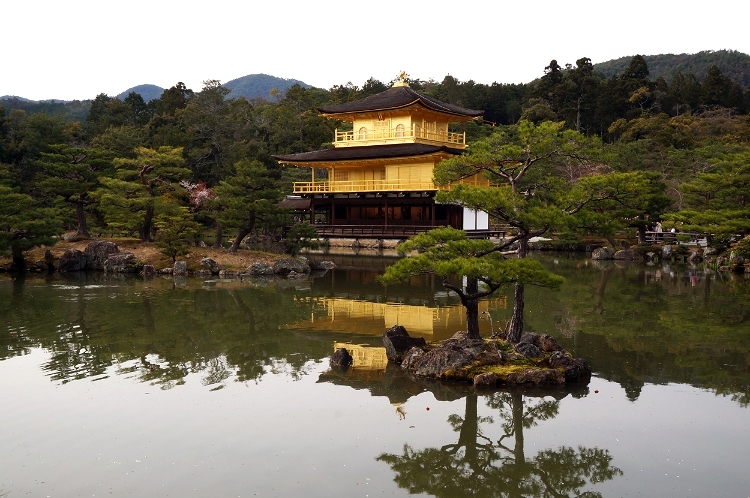 The Golden Pavillion, Kyoto, Japan, Euriental