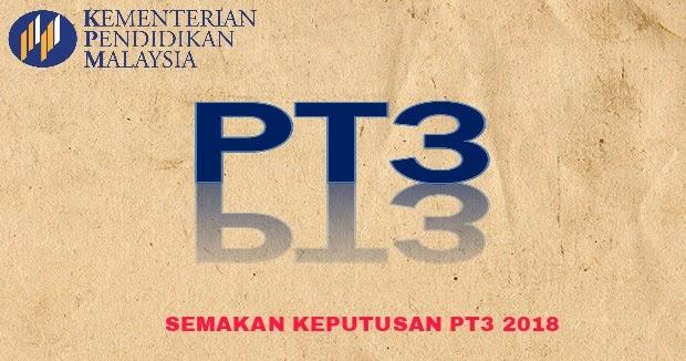 Semakan Keputusan Pt3 2018 Online Dan Sms Pendidikan Malaysia