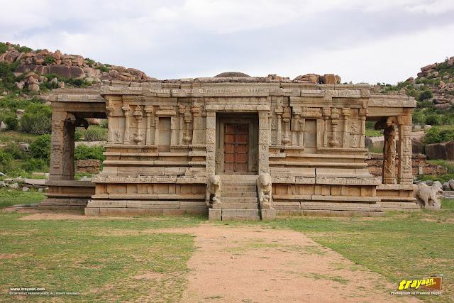Vishnu temple, Hampi