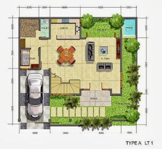 desain rumah minimalis modern 2 lantai kumpulan gambar