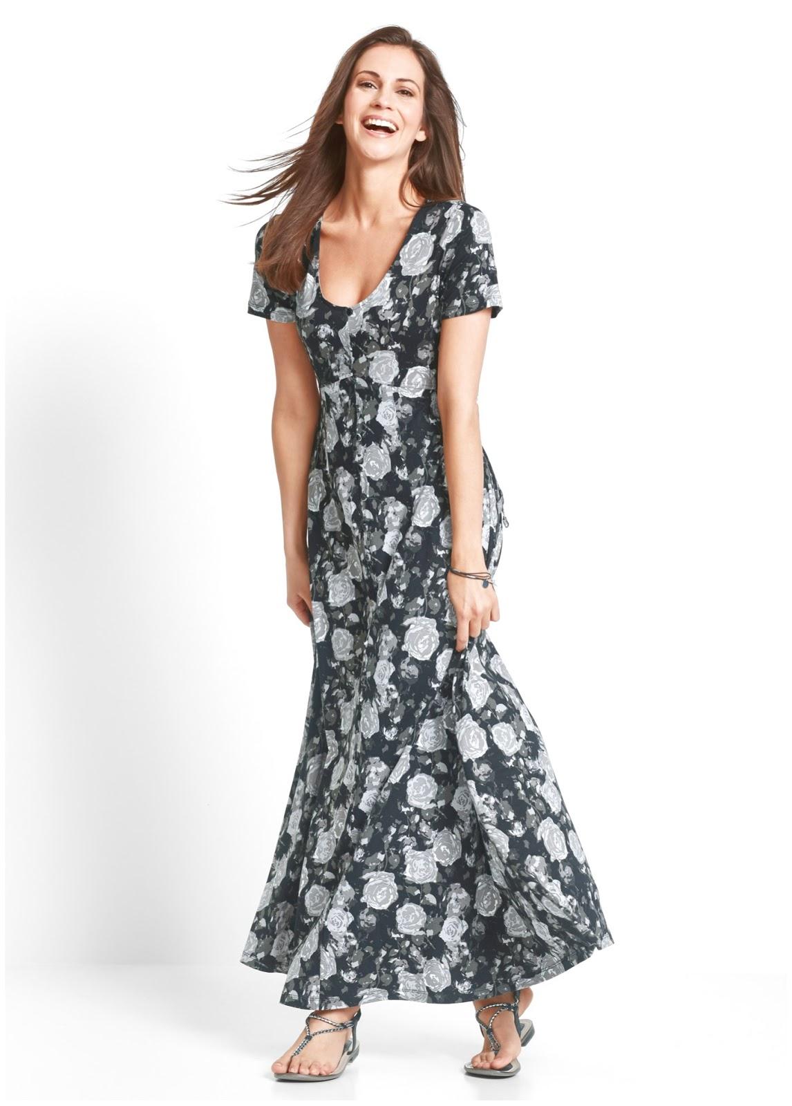 Modelos de vestidos casuales para senoras