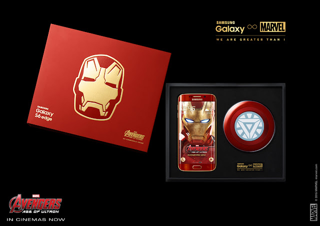 Limited Edition IronMan Galaxy S6 Edge + LE Edition S6 Edge Box