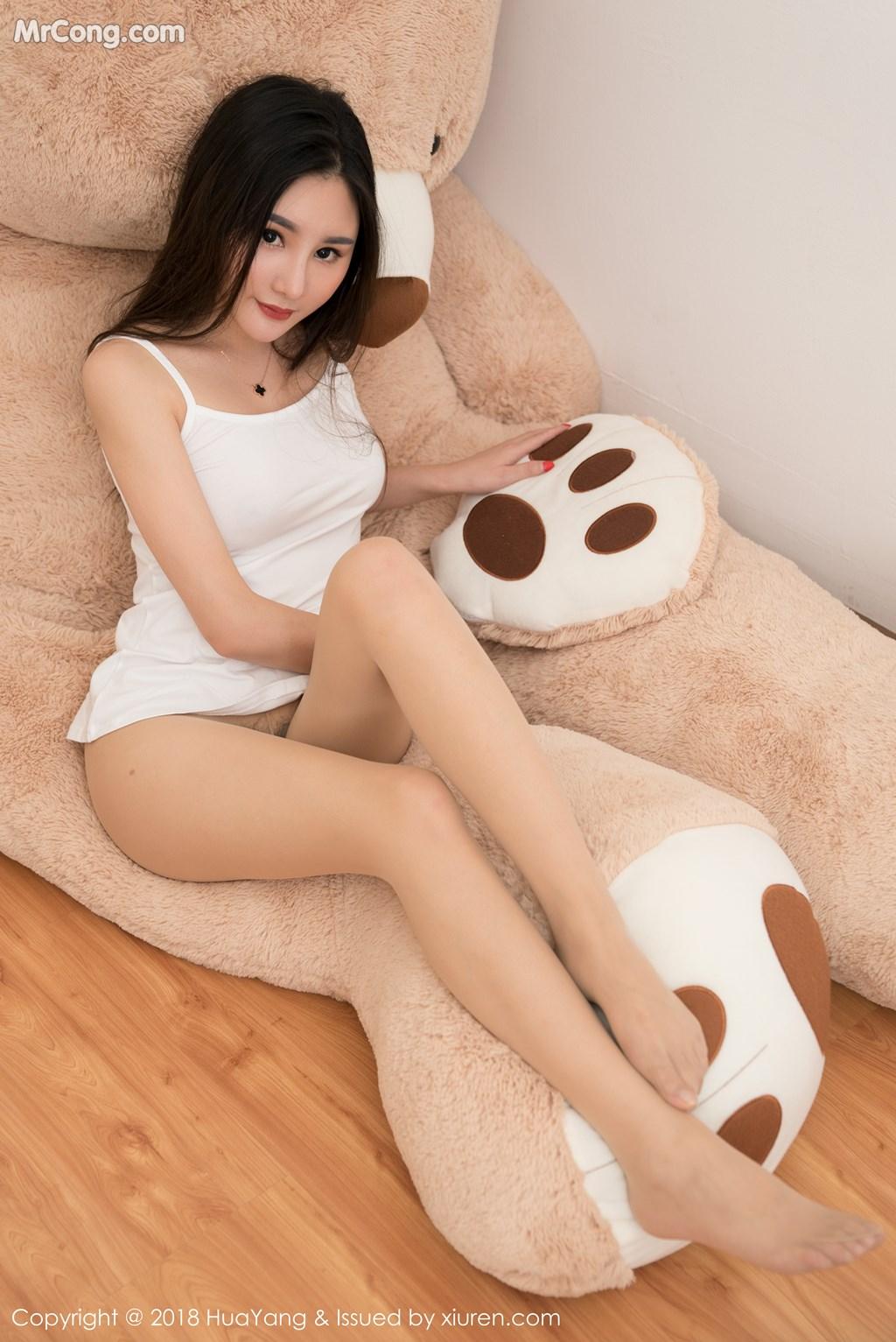 Image HuaYang-2018-03-02-Vol.034-Xiao-Tian-Xin-Candy-MrCong.com-022 in post HuaYang 2018-03-02 Vol.034: Người mẫu Xiao Tian Xin (小甜心Candy) (41 ảnh)