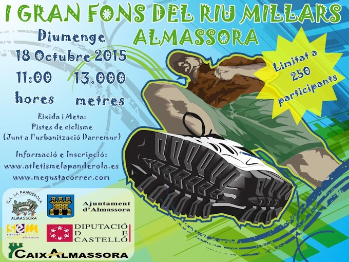1er GRAN FONS DEL RIU MILLARS - ALMASSORA 2015