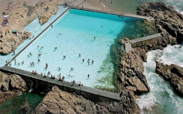 Kosta de alhabaite le a da palmeira piscina das mar s for Piscine porto portugal