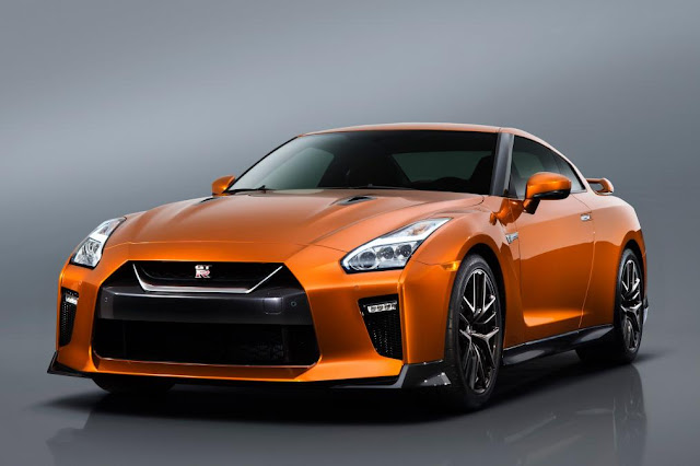 2017 Unveiled New Nissan GT-R supercar in New York front view