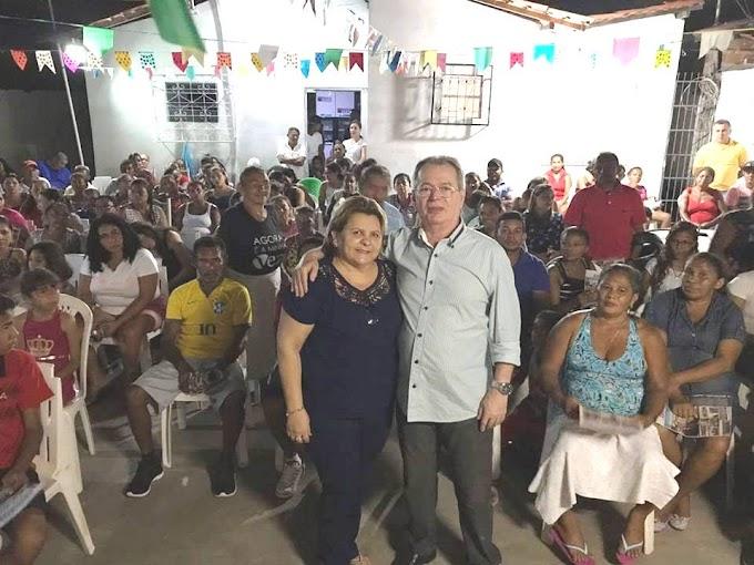 Em visita a Aldeias Altas, deputado estadual Levi Pontes ouve demandas do povo