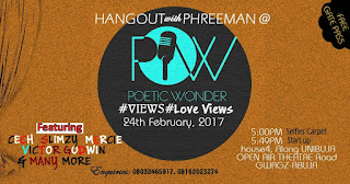 It's POETIC WONDER February! Save The Date & plan To Attend