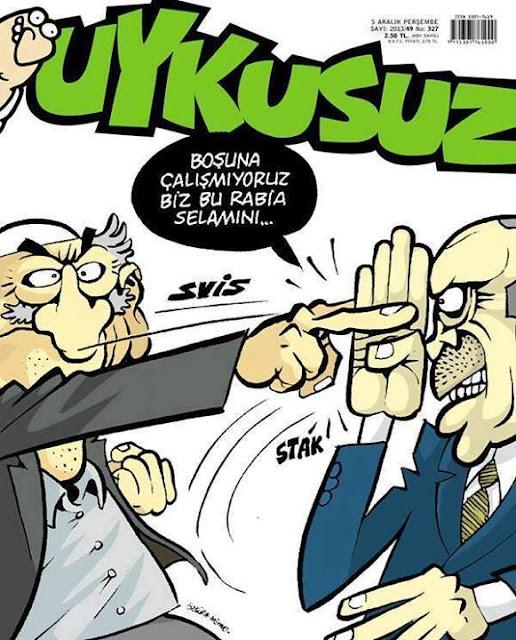 Uykusuz Dergisi - 5 Aralık 2013 Kapak Karikatürü