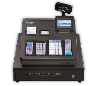 Sharp ER-A347 Cash Register w/ Quick Books transfer tool