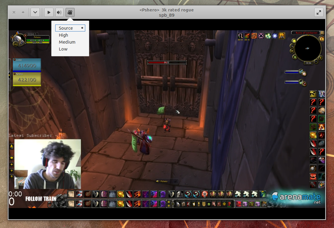 Watch Twitch Without Flash On Your Desktop With GNOME Twitch ~ Web