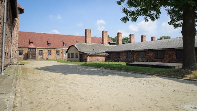 Crematory of Auschwitz