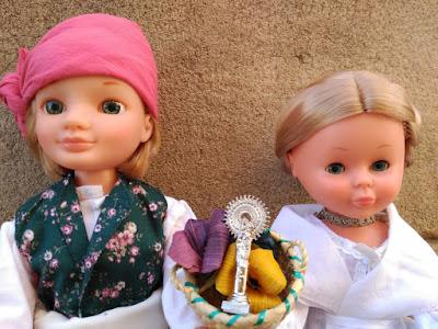 Lucas New y Nancy Clásica vestidos de baturros
