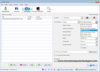 Download FVD suite (software convert video dan youtube downloader)