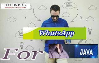 Download whatsapp for java phones free