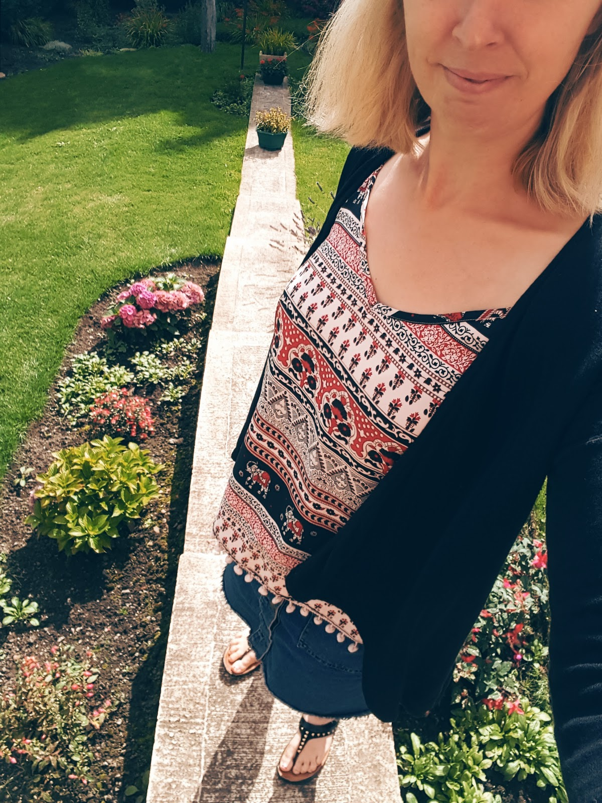 What I Wore: Bargain Primark Top Car Boot Sale For 50p!