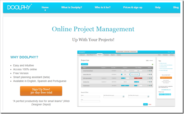 Project Management Progress and Tracker