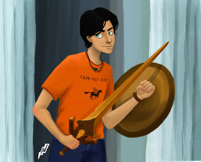 Wristwatch Shield from Percy Jackson and the Olympians by Rick Riordan