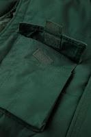 Detalle de un bolsillo del Chaleco de trabajo impermeable, antifrío y resistente - RUSSELL