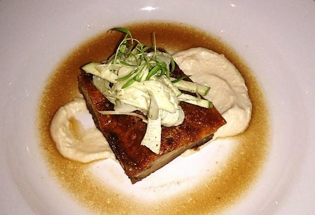 Cafe Florentine, Brighton, pork belly