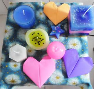 velas artesanais- Cores de Brine