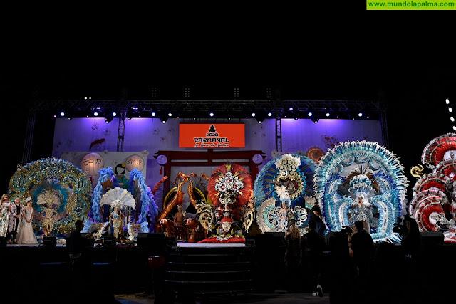 Las fantasías participantes de las tres Galas del Carnaval de Japón en Aridane salen a la calle