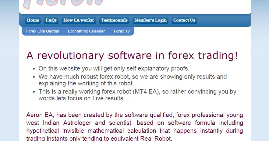 Forex chief ea