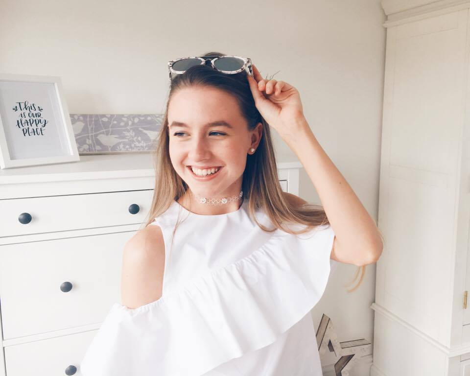 New In Spring 2017 - Primark Haul and Try On White Cold Shoulder Blouse