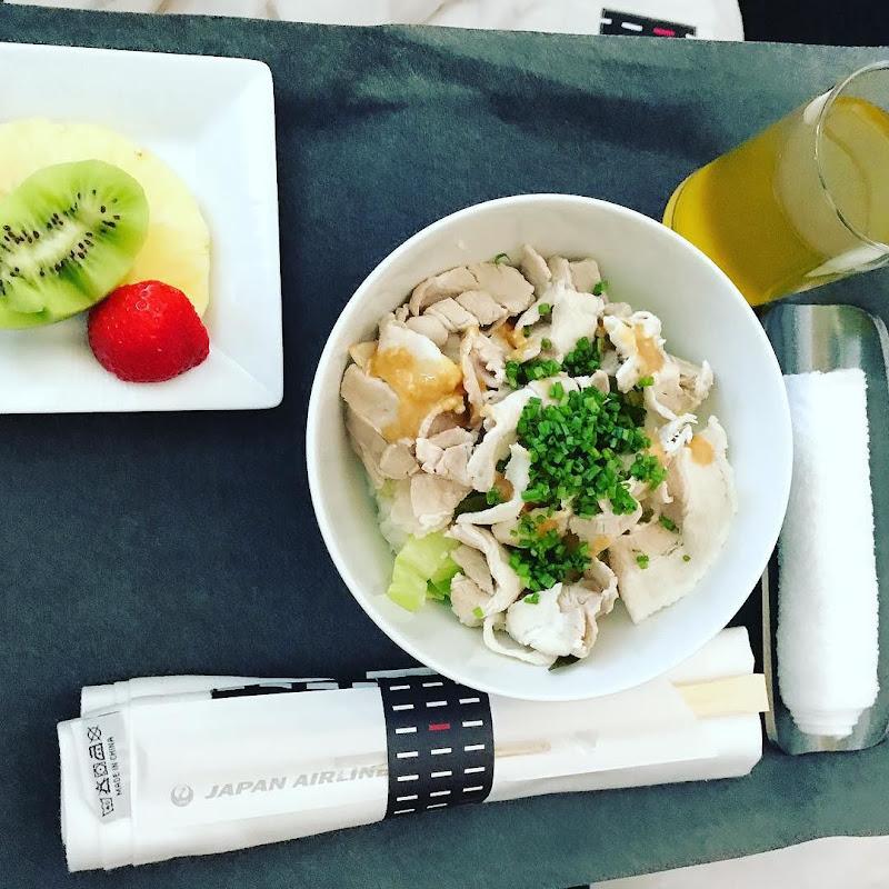 2017-06-20: AL408(JL408) ドイツ・フランクフルト=東京・成田 ビジネスクラス 19:20-13:40 ビジネスクラス 搭乗時の機内食内容