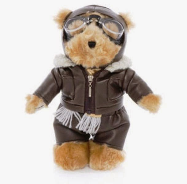 Gambar boneka beruang lucu banget pakai kacamata bulat