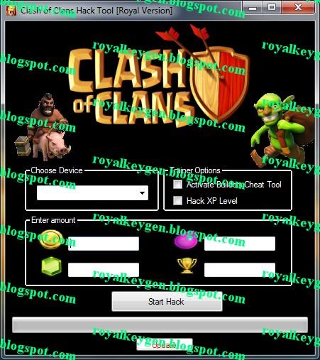 Royal Cheats: Clash of Clans Hack Tool [Royal Version