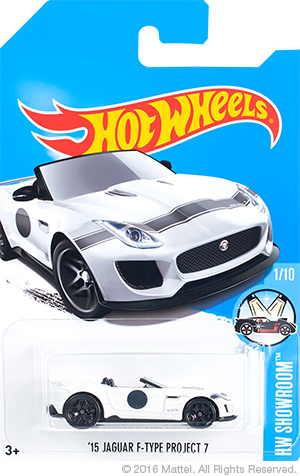 HW 15 Jaguar F-Type Project 7 special colors Kmart Edition