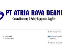 Staf Admin - Indarung Gaji 2.5 jt PT Atria Raya Deanro