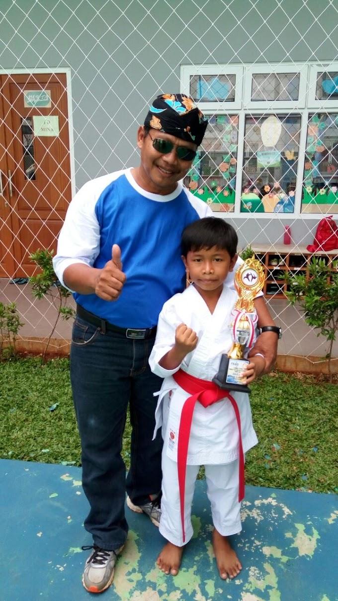 Dua Siswa SDN Sukamaju 10 Raih Pretsasi O2SN Cilodong