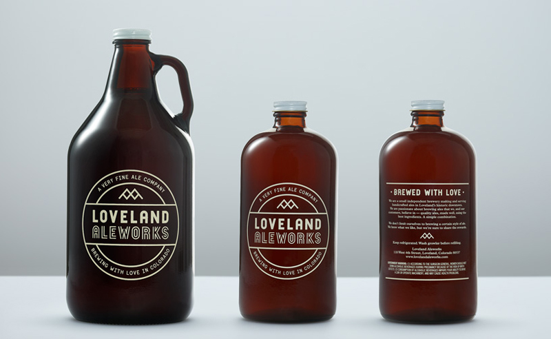 Loveland Ale Works Manual beer packaging