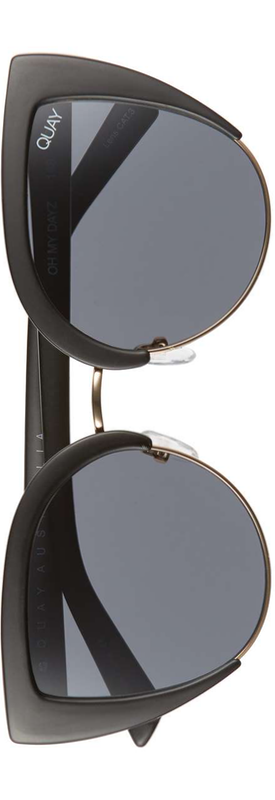 Quay x Missguided Oh My Dayz 53mm Sunglasses Black
