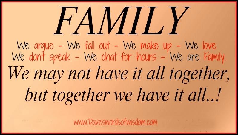 Daveswordsofwisdom.com: Family
