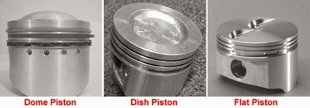 fungsi piston dan komponen piston