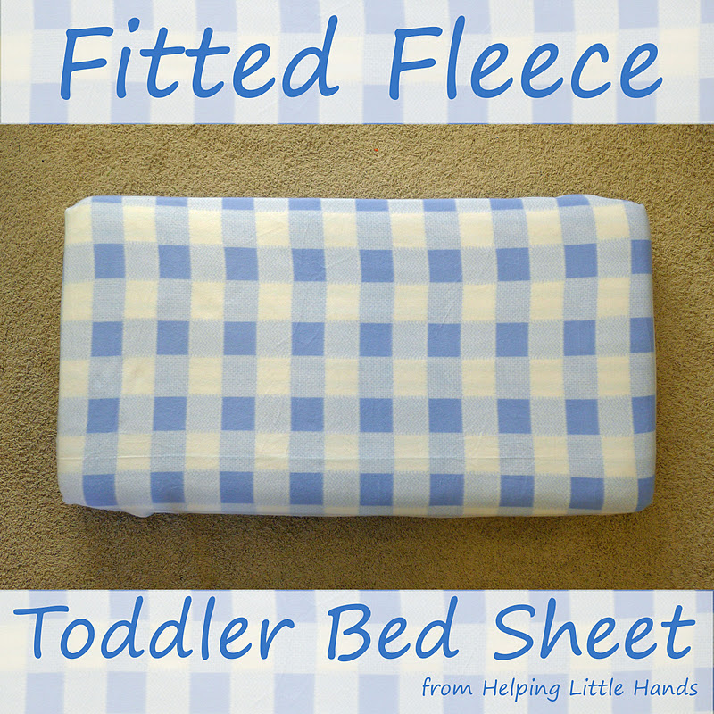 Pieces By Polly Tutorial Fleece Fitted Toddler Or Crib