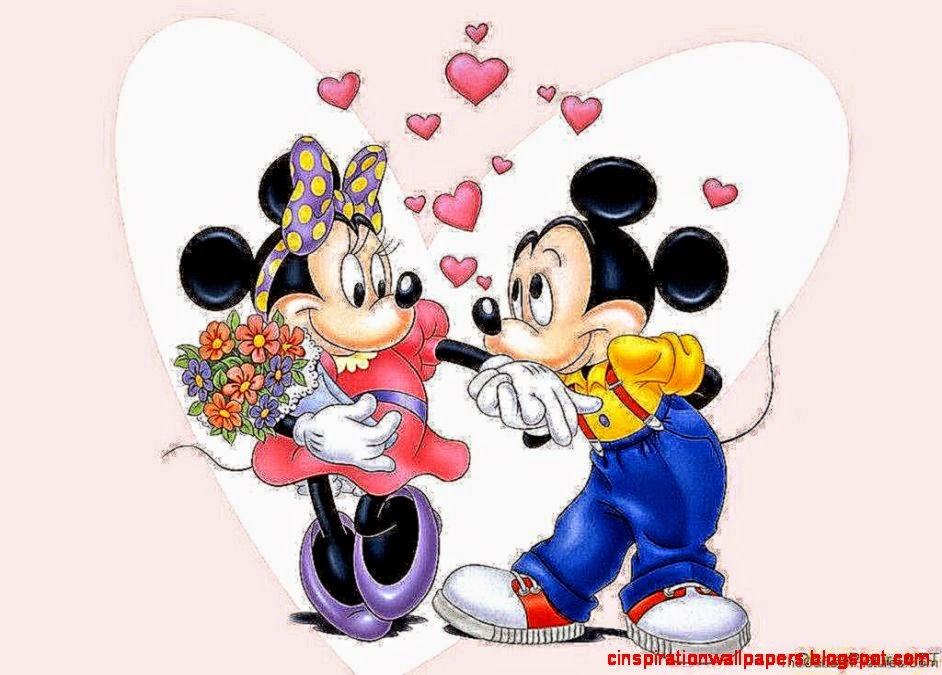 Mickey And Minnie Fall In Love | Inspiration Wallpapers