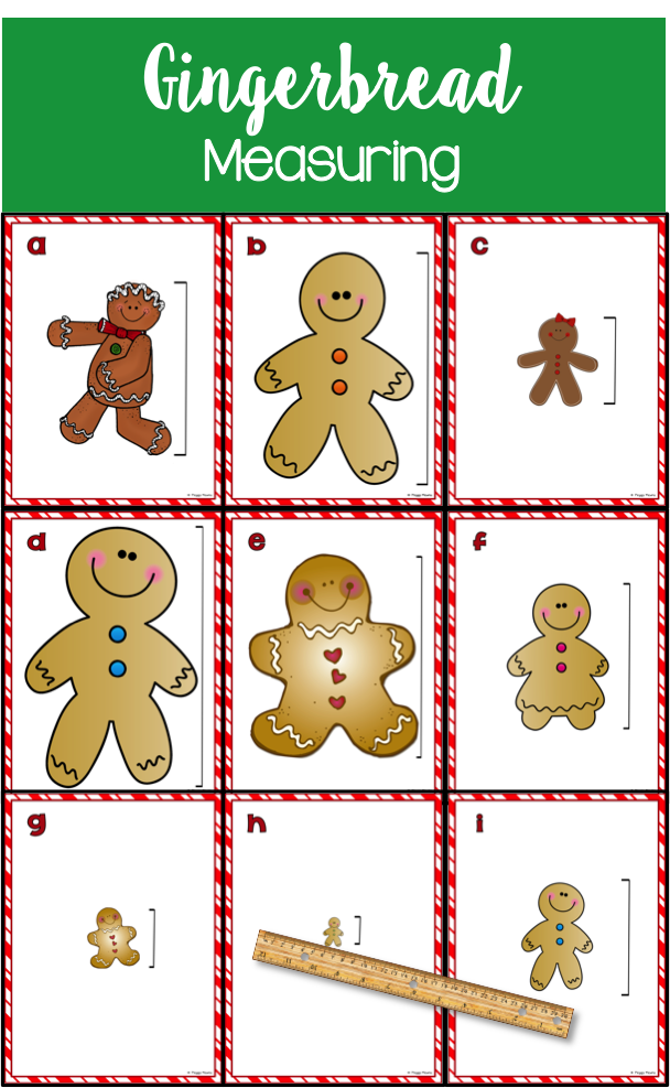 Here is a fun way to introduce and or review measuring in inches with your students. This cute Gingerbread Activity is the perfect activity to use during this Holiday Season! It gets them up and moving and they are still learning!