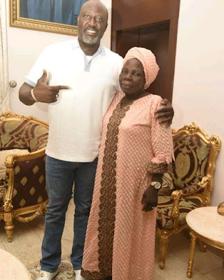 So Sad: Senator Dino Melaye Loses His Mum