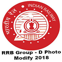 RRB Railway Group - D Photo Modification 2018