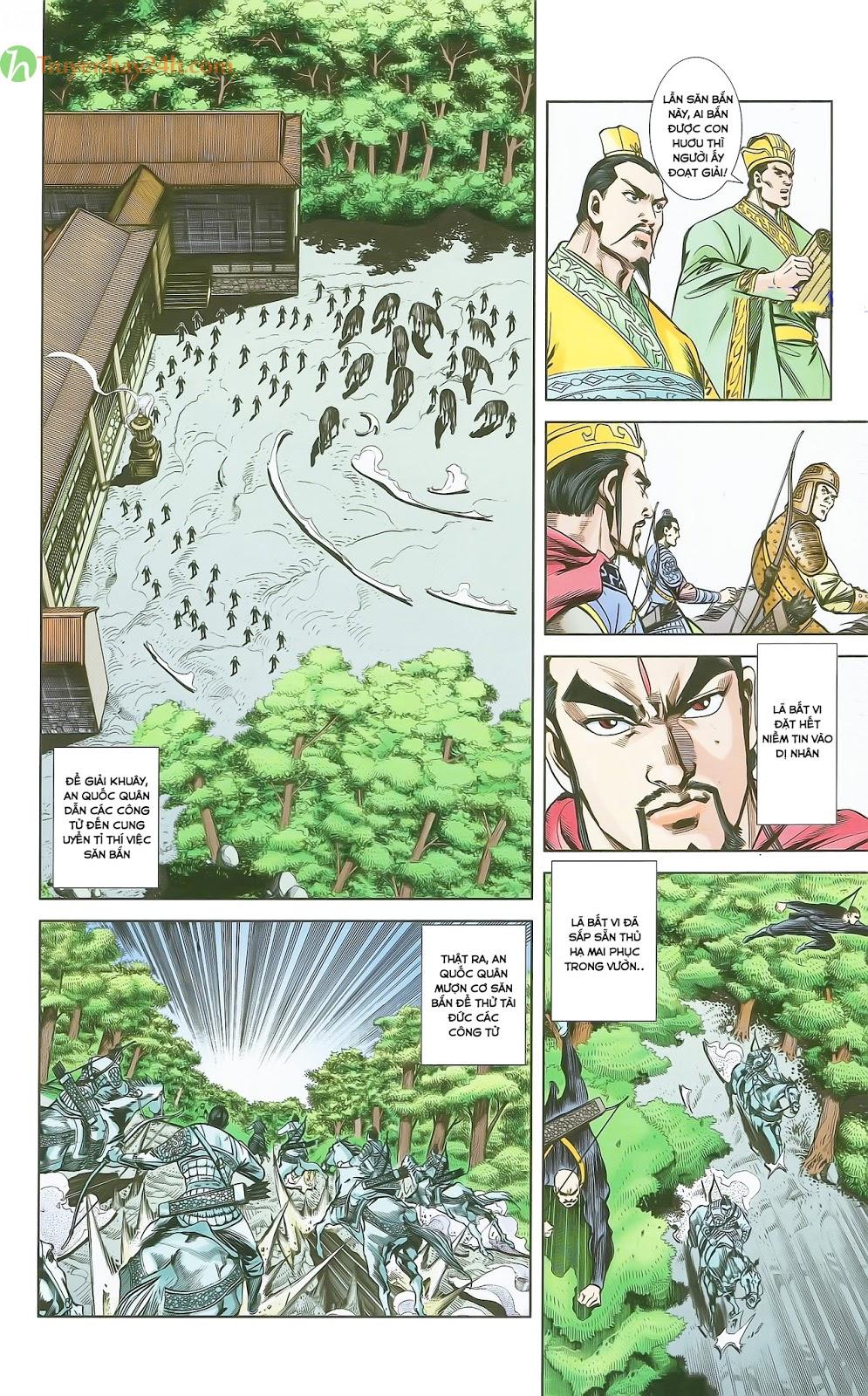 Tần Vương Doanh Chính chapter 28 trang 23