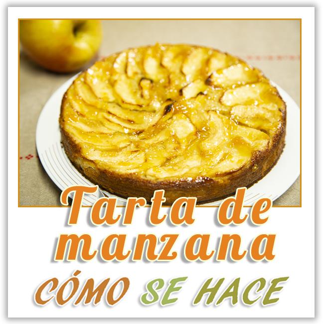 RECETA DE TARTA DE MANZANA MUY FÁCIL
