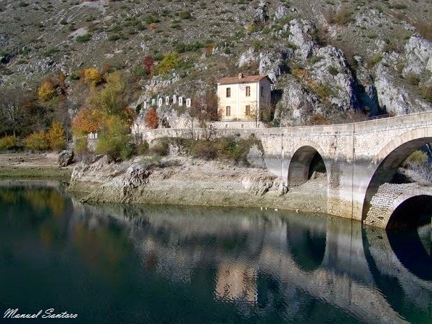 Villalago, Lago di S. Domenico