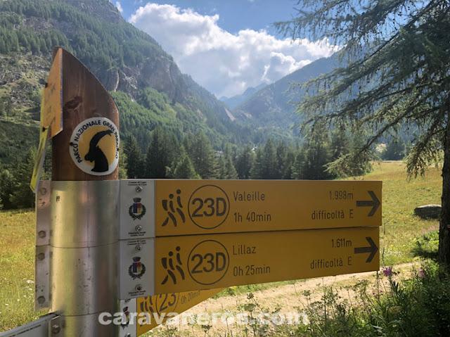 Senderismo Parco Nazionale Gran Paradiso | caravaneros.com