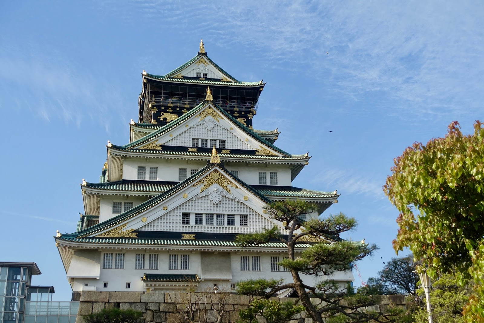 1 DAY IN OSAKA, JAPAN osaka castle
