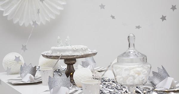 partyerie weihnachtliche tischdeko a la frozen. Black Bedroom Furniture Sets. Home Design Ideas
